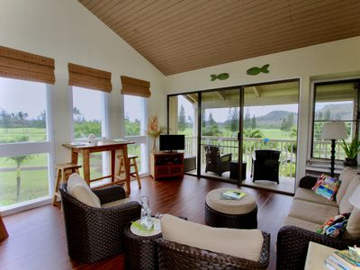 Photo for HONU KAI HIDEAWAY - Like a treehouse with views of ocean, golf course, mountains