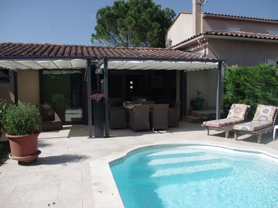 Photo for Ideal for couples, maisonette with private pool