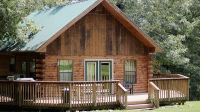 Photo for Beautiful Log Cabin Sleeps 6, 1/4 mile from White River  Public Boat Launch!
