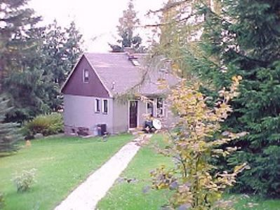 Photo for Directly at forest, very well-furnished, quietly situated house
