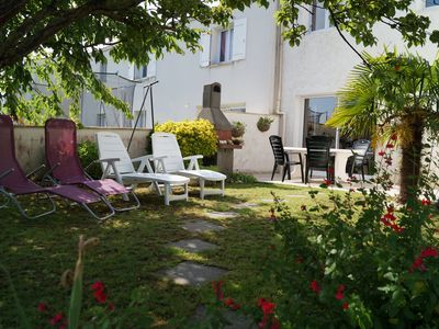 Photo for Royan Apartment ground floor with enclosed garden for up to 4 people, very quiet