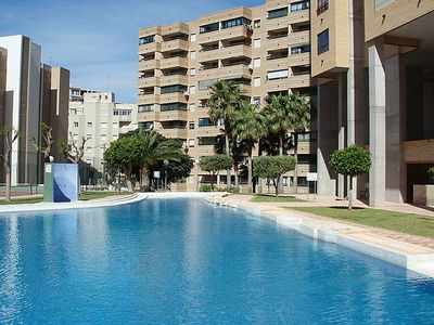 Photo for Apartment Entreplayas  in Benidorm, Costa Blanca - 3 persons, 1 bedroom