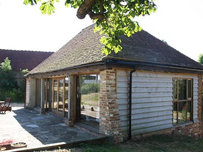 Photo for Peaceful barn conversion studio Retreat with Piano, theTractor Shed.