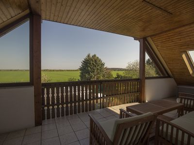 Photo for Exclusive apartment in the north of Leipzig with great views, close to town, on the green ring