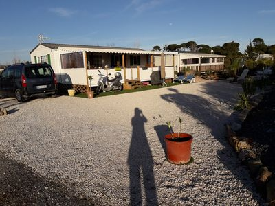 """Photo for RENTAL MOBILE HOME in HYERES """"camping les pins maritimes"""""""