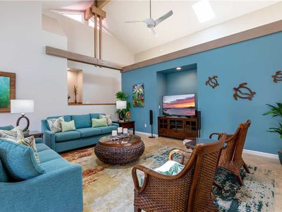 """Photo for Poipu Thoughtfully New Remodeled Villa One-Story """"A/C """" *Lanai Villas 38*"""