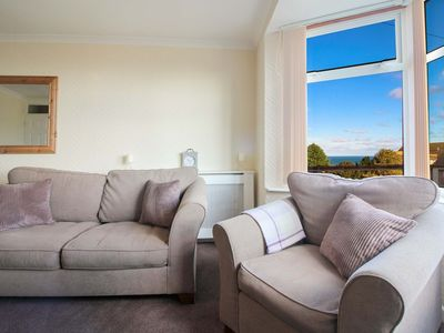Photo for Godrevy is a ground floor, beautifully appointed and recently renovated apartment with glorious view