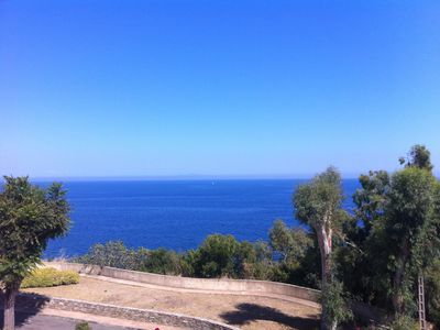 Photo for Apartment with sea view. At 3 km from Bastia
