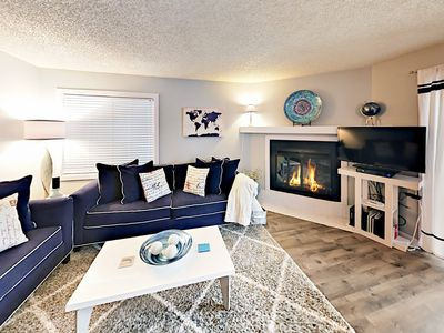 Living Room - Welcome to Avon! Your condo is professionally managed by TurnKey Vacation Rentals.