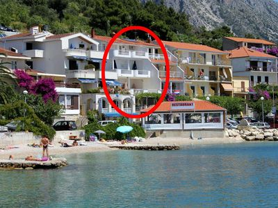 Photo for Apartment in Podgora (Makarska), capacity 2+1