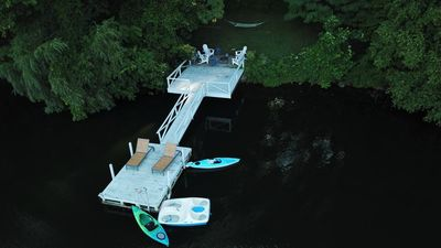 At Spur, you can enjoy your private dock to relax, swim, kayak, SUP, dock a boat