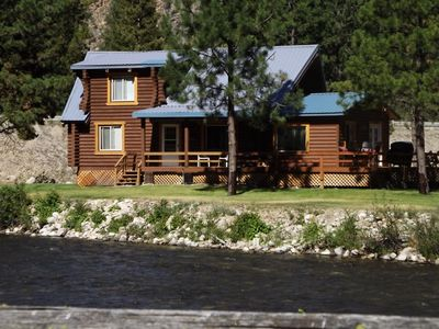 Photo for Ricciardi's -  West Fork Cabin Waterfront Retreat, Paved Access.