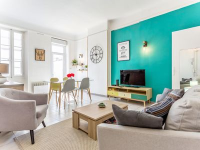Photo for Design apartment with terrace in Marseille