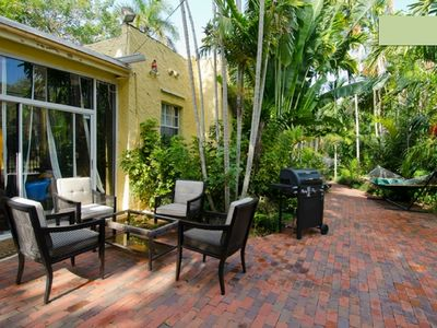 Photo for 2BR/1BA-terrace-Coconut Grove - Near Marina/Beaches/ALL-Monthly rent & Pets OK
