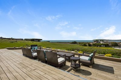 Deck - Welcome to Bodega Bay! This oceanfront home is professionally managed by TurnKey Vacation Rentals.