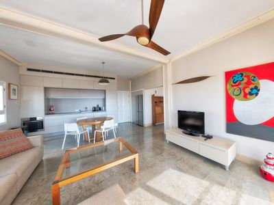 Photo for yaffo, amazing sea view, big terrace, 2BDR