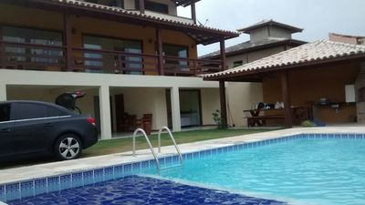 Photo for Excellent house and 3 spectacular pool churrasq privac to 300 m from the beach.