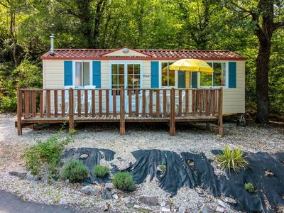 Photo for Camping La Draille - Sarlat 3 room mobile home 6 people
