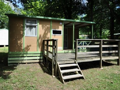 Photo for Camping Rouffiac *** - Chalet Rouffiac 3 Rooms 4 Persons