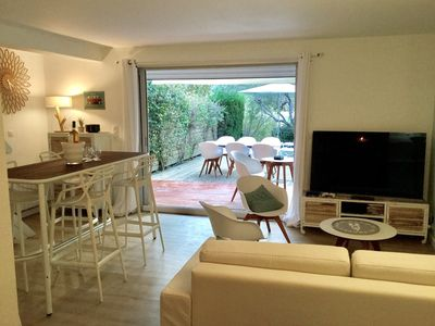 Photo for House 2 to 8 people prox Byblos Les Lices, air conditioning, pool, 2 parking