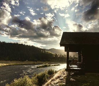 Photo for GOD'S BEAUTY ABOUNDS THIS CABIN...GO FISHING ON THE MADISON, VISIT YELLOWSTONE!