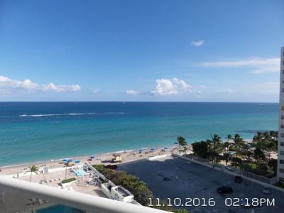 Photo for HOLLYWOOD, FL Beautiful Beachfront Condo with Amazing View! Monthly Rentals Only