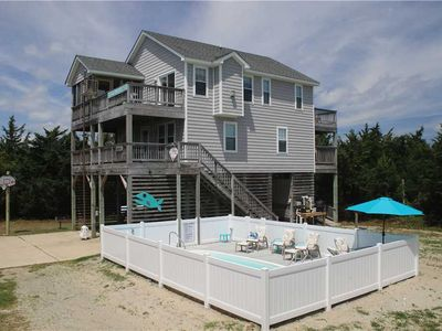 Photo for Oceanside in Salvo w/Htd Pool&HotTub, PetFriendly