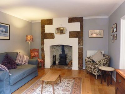 Photo for PRIMROSE COTTAGE, pet friendly, with open fire in Penryn, Ref 976513