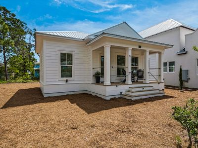 Photo for NEW CONSTRUCTION COZY BEACH HOUSE OFFERS COMPLIMENTARY BEACH CHAIR SET UP!!!