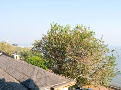 Photo for Serene 2 bed Sea Facing flat in Colaba!
