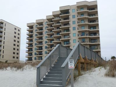 Photo for 1 BEDROOM/1 BATH OCEANFRONT/JULY 6-13 AVAILABLE: $900.00 ALL INCLUSIVE PRICE.