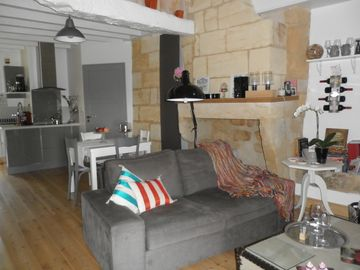 The luxury apartment in the heart of Saint Tea Saint Emilion