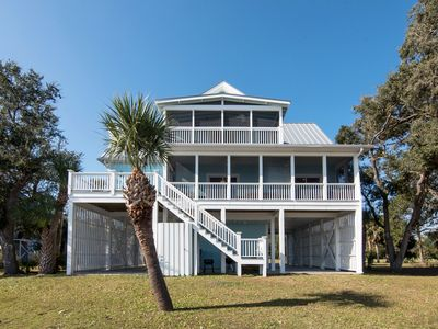 Photo for Sea Breeze - Amazing Water Views & Deep Water Dock; Pet Friendly