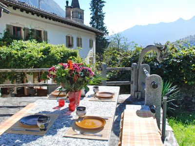 Photo for Vacation home Cristallo  in Aquila, Ticino - 4 persons, 2 bedrooms