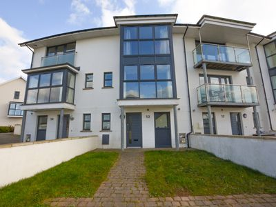 Photo for Modern Townhouse in Pennar, Pembrokeshire close the water and golf course.  - Size: sleeps 8 in 3 be