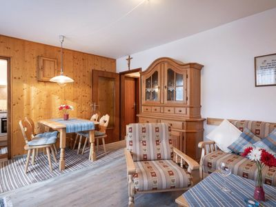 Photo for Idyllic 2 room apartment with balcony up to 4 people, oven, swimming pool, sauna