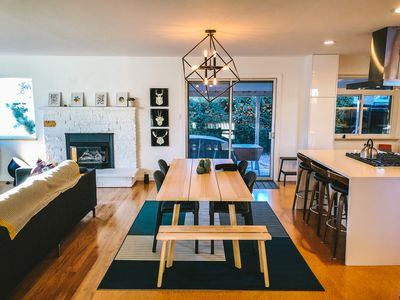 Photo for Bright and Spacious Modern Mid Century Ranch.