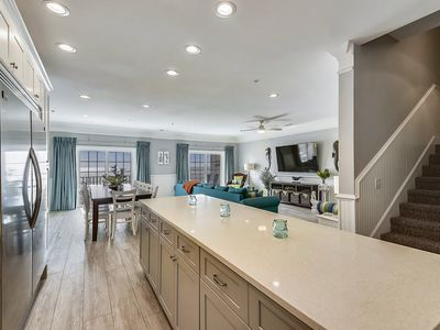 Photo for COMPLETELY REMODELED FOR 2019, OCEANFRONT, 6 BEDROOMS, 5 BATHS, PENTHOUSE VILLA