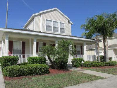 Photo for Trafalgar Village Home with Private Pool and Lanai, 15 Minutes from Disney!