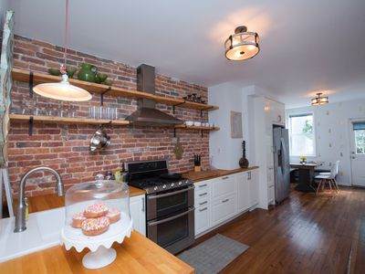 Photo for Artsy & Cozy Historic 4 BR with Harbor Views
