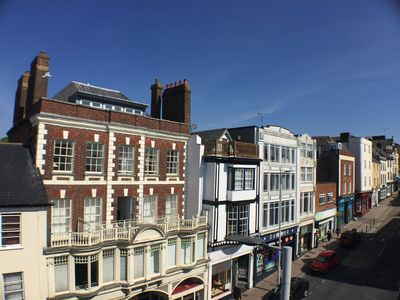 Photo for CENTRAL EXETER CITY CENTRE APARTMENT WITH ROOF TERRACE