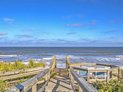 Photo for Ponte Vedra Home w/Deck&Ocean Views-Steps to Beach