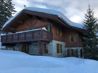 Photo for Chalet Courchevel 1850- 4 bedrooms-pool -spa-