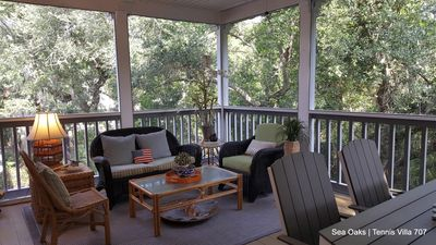 Photo for Cozy 2/2 Sea Oaks Beach & Tennis Villa. Weekly/Monthly guests welcome!