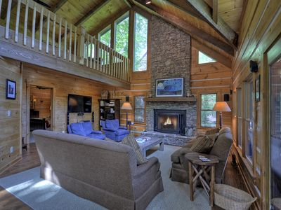 Photo for August Special!! $400/ night - Authentic Lakefront Cabin on Blue Ridge Lake!