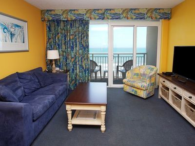 Photo for Baywatch Tower I unit #806, 1 bedroom Ocean Front unit with Indoor/Outdoor pools and Lazy Rivers