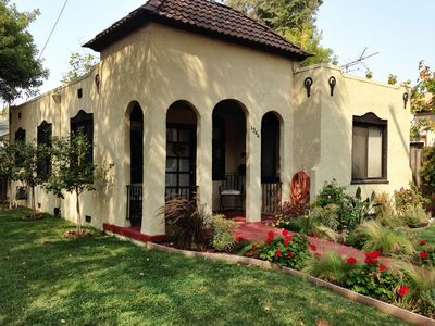 Photo for Spanish Bungalow with Hot Tub! Close to downtown and easy access to Wine Country