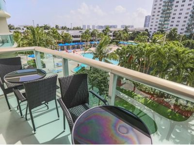 Photo for Beautiful 1 BR w/ Pool View @Ocean R_D30