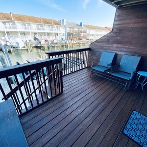Photo for Three Bedroom, Two and a half bathroom Canal Front Townhome W/ Boat Slip