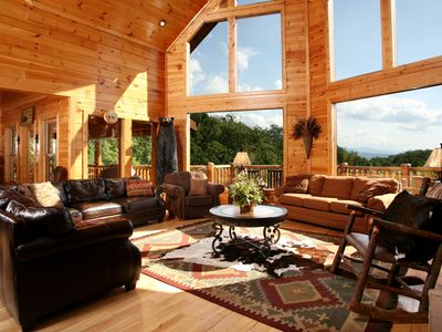 Photo for Big Bear Lodge, 5 Bedrooms, Sleeps 26, View, Hot Tub, Privacy, Jacuzzis